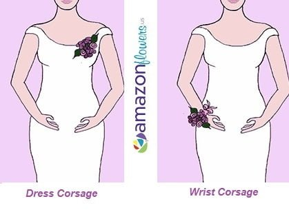 Wedding Flowers Corsages