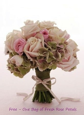 bridal bouquet cognac 1