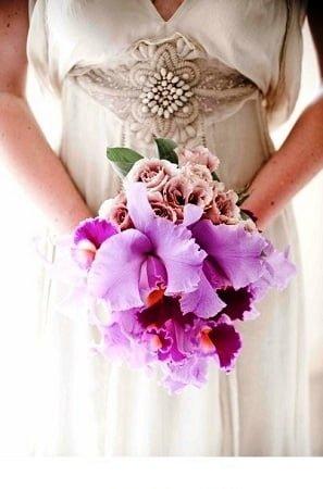 bridal bouquet sweet flowers 1