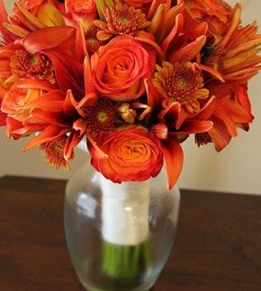 bridal bouquet romance