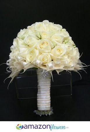 bridal bouquet white wonders